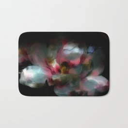 Opalescent Flower One  Bath Mat