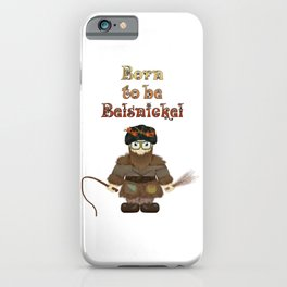 Born to be Belsnickel iPhone Case