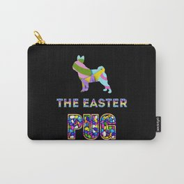 Pug gifts | Easter gifts | Easter decorations | Easter Bunny | Spring decor Carry-All Pouch