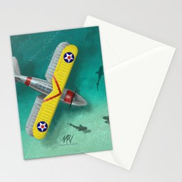 Duck in Trouble Stationery Cards