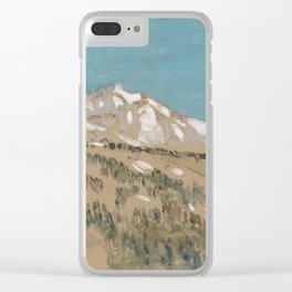 Mt Hood, Oregon 1904 by Childe Hassam Clear iPhone Case