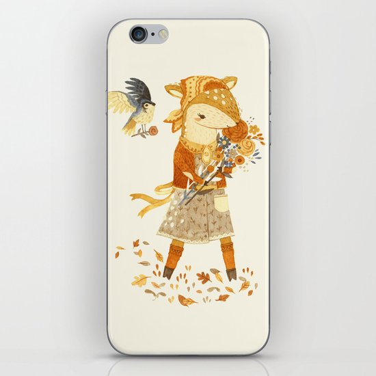Dakota the Daisy Deer iPhone & iPod Skin
