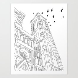 Architecture Project - Florence Art Print