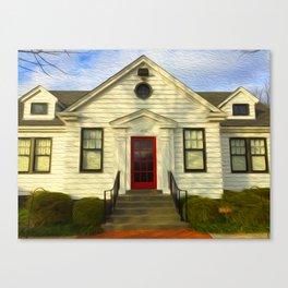 Red Door Canvas Print