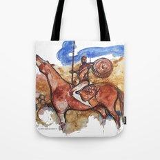 Cavaliere errante Tote Bag