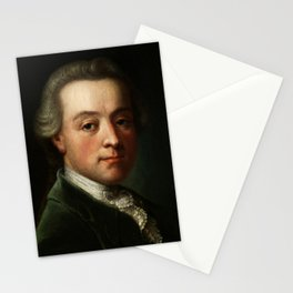 Wolfgang Amadeus Mozart (1756 -1791) portrait Stationery Cards
