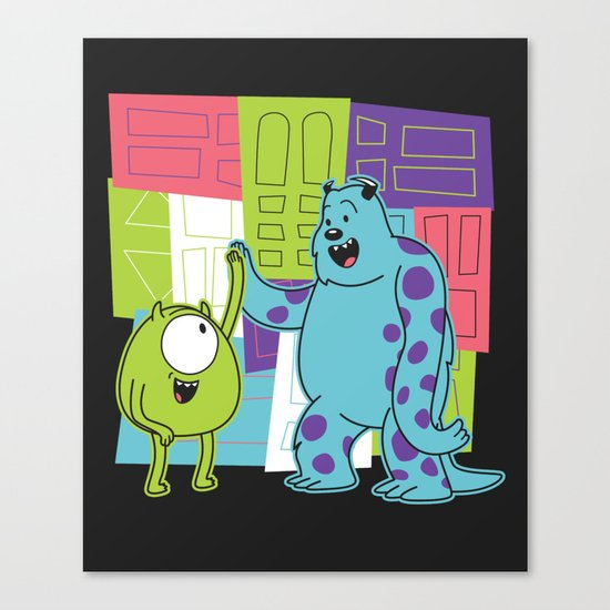 Monster Time Canvas Print