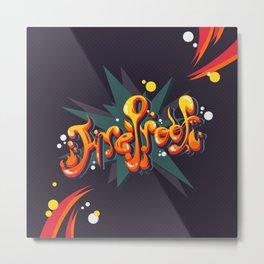 Fireproof - 10 Millions Download Metal Print