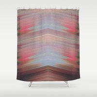 motorcycle Shower Curtains featuring Motorcycle by Joshua Cade