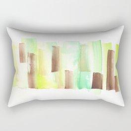 [161228] 9. Abstract Watercolour Color Study |Watercolor Brush Stroke Rectangular Pillow