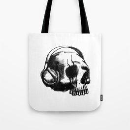 Skull DJ Tote Bag