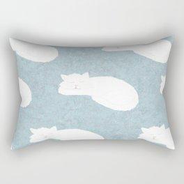 Sleepy Cat Rectangular Pillow