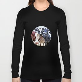 Funny cows Long Sleeve T-shirt