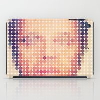 jack nicholson iPad Cases featuring Jack of dots by lev man