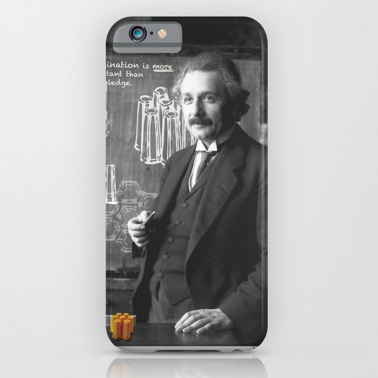 Imagination > Knowledge iPhone & iPod Case