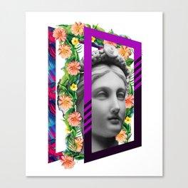 study of beauty Canvas Print