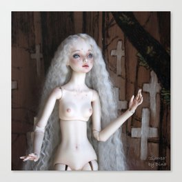Enchanted Doll 'Surrea' Canvas Print