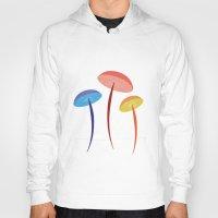 mushroom Hoodies featuring Mushroom by Emmyrolland