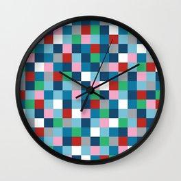 Colour Block #4 Wall Clock