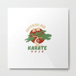 Miyagi-Do Karate Dojo Metal Print