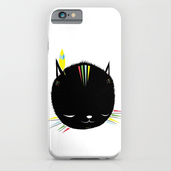 MIGHTY TIGARRR, BLACK KITTEN 묘 iPhone & iPod Case