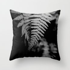 Two Ferns Throw Pillow