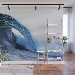 The Wave Wall Mural