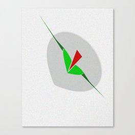 Sinking, art, wall art lips, arrow, print Canvas Print
