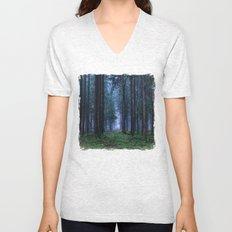 Green Magic Forest Unisex V-Neck