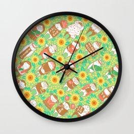 Sunflower Movement Wall Clock