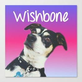 wishbone icon Canvas Print