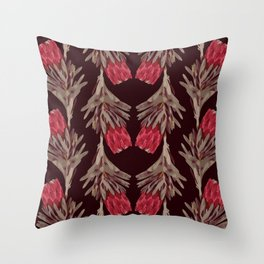 PROTEA IN VINO Throw Pillow