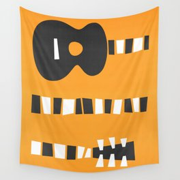 Retro Guitar Wall Tapestry