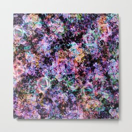 Polychromatic Roses No. 2 Metal Print