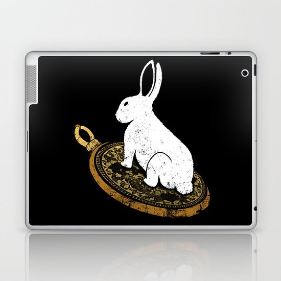 Follow The White Rabbit Laptop & iPad Skin