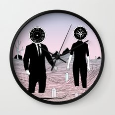 Time and Journey (To a Place I've Never Been Before) Wall Clock