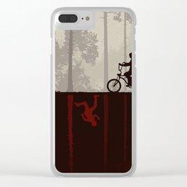 Darkwood Strange Things Clear iPhone Case