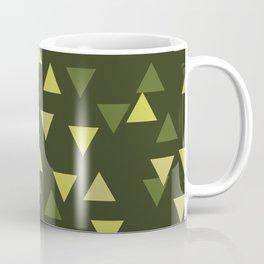 Triangles of Moss Coffee Mug