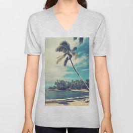 Vintage Tropics Unisex V-Neck