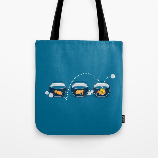 Prepared Fish Tote Bag