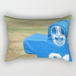 Football Dummy Rectangular Pillow