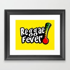 Reggae Fever Framed Art Print