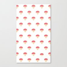 Donuto - Strawberry Topping Canvas Print