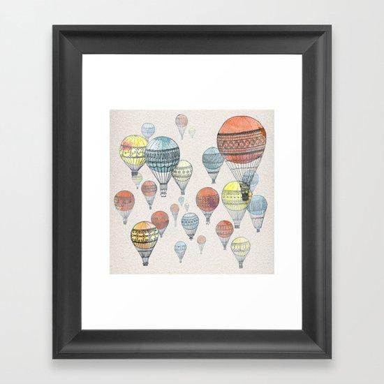 Voyages Framed Art Print