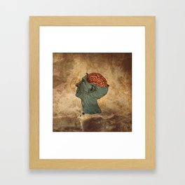 Mind Wide Open Framed Art Print