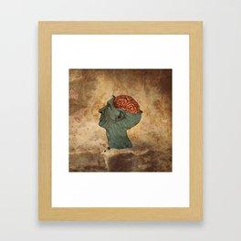 Mind Wide Open Framed Art Print