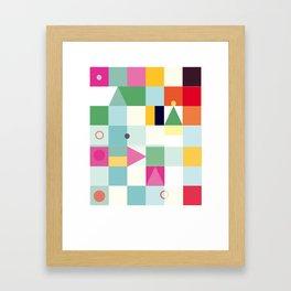 Vibrant Framed Art Print