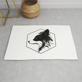 Canine Republic : Border Collie Rug