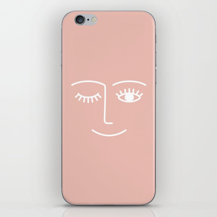 Wink / Pink iPhone Skin
