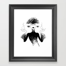 Filigrea Framed Art Print